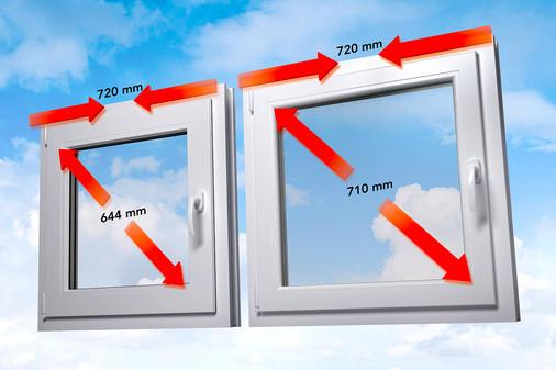 Vergelijking standaard kozijn met energeto-kozijn
